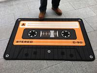 Tape - Orange - Hochwertiger Teppich - Größe 80x120 cm