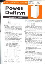 Istruzioni per Powell duffryn 80,000BTU Caldaia riscaldamento centrale Carbone Antracite