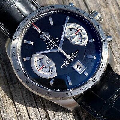 🇨🇭⌚️ TAG Heuer Grand Carrera Chronograph ⌚️🇨🇭