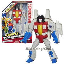 """Year 2013 Transformers Hero Mashers Series 6"""" Tall Action Figure - STARSCREAM"""
