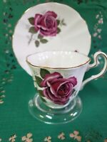 Adderley Teacup and Saucer.  Fine Bone China Made In England