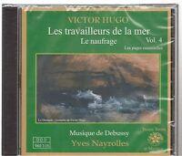 LIVRE AUDIO victor hugo - les travailleurs de la mer vol 4 CD neuf (1040)