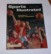 1961 Sports Illustrated OHIO STATE BUCKEYES hoops JERRY LUCAS ! NICE !