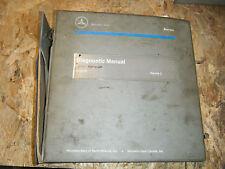 1997 MERCEDES BENZ ENGINE DIAGNOSTIC SERVICE MANUAL DRIVEABILLITY VOLUME 2