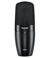 Shure SM27-SC Cardioid Condenser Microphone Mic SM27