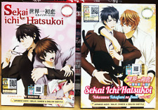 ANIME SEKAI ICHI HATSUKOI SEA 1-2 VOL.1-24 END + OVA + MOVIE DVD ENGLISH SUBS