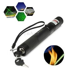 Professional G303 Green Laser Pointer Pen Beam 532nm 5mw + Light Star Cap