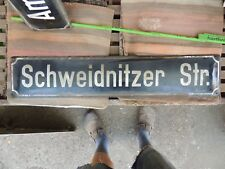 Schweidnitzer Strasse Swidnica Schlesien Düren  Email Strassenschild plate sign