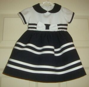 BONNIE/BABY~girl's~TWO/PIECE/SAILOR/DRESS/BLOOMERS! (3/6/MO) BRAND/NEW! CUTE!