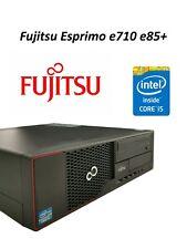 Home Office Desktop PC Fujitsu Esprimo e710 e85+ 4gb RAM 232gb HDD Top Zustand