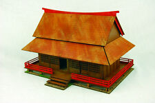 Japan SAMURAI HOUSE SAMURAI / JAPANESE 28mm Laser cut MDF scale Building B003