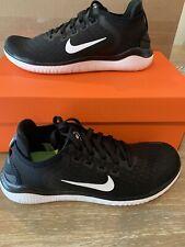 Nike Free RN 2018 942837-001 Running Shoes, Women's Size 8.5 , Black