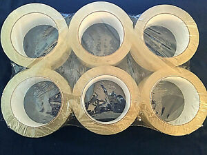 Universal General Purpose Box Sealing Tape, Clear - 6 pack