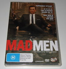 Mad Men : Season 3 (DVD, 2010, 3-Disc Set)