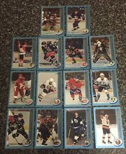 Lot Of (14) 2002-03 Topps Opc Blue Parallel Hockey Cards#500 Yzerman,Stefan,Peca
