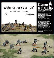 Caesar Miniatures 1/72 II Guerra Mundial Ejército Alemán Sturmpioniere Equipo #