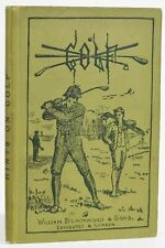 Horace Hutchinson / Hints on Golf 1886