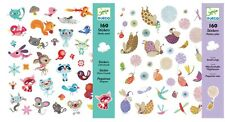 """Djeco Stickers Twin Pack """"Small Wings & Little Friends"""" kit, Au Seller"""