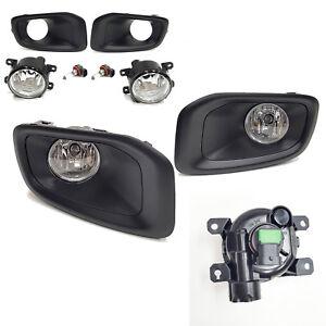 For 2015-2017 Jeep Renegade Latitude Limited Sport Fog Light Kit w/ Black Bezel