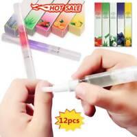 12x Mix Taste Cuticle Revitalizer Oil Pen Nail Art Treatment Nail-Care-Manicure