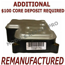 REMAN 02 03 04 05 Envoy Trailblazer EBCM ABS w/ Traction Module 13451110 XCHANGE