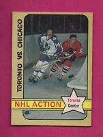 1972-73 OPC # 209 LEAFS DAVE KEON ACTION EX-MT CARD (INV#5634)