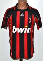 AC MILAN ITALY 2006/2007 HOME FOOTBALL SHIRT JERSEY ADIDAS SIZE S ADULT