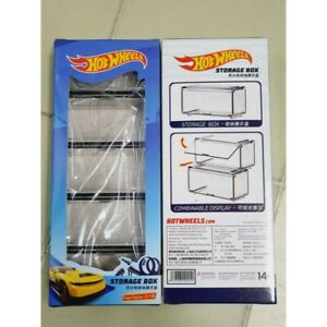 1:64 NEW Arcylic Combined Storage Display Box 1set For Hotwheels/Matchbox/Tomica