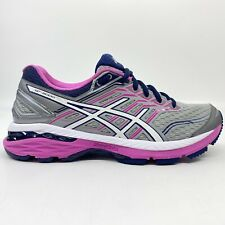 Asics GT-2000 5 Running Shoes Women Sz 7 Narrow 2A Gray Pink T760N