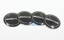 NEW 4pcs ///AMG Wheel Center Hub Cap Emblem Badge decal Sticker 56.5MM
