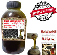 Pure Organic Virgin Black Cumin Seed Oil Cold Pressed Nigella Sativa Kalonji 132