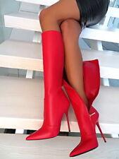 Elegante kniehohe Damen-Stiefel Größe 43