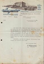 NEUHAUSEN i. Erzgeb. Brief 1936, Sitzmöbel-Fabrik E. Morgenstern, Stühle, Sessel