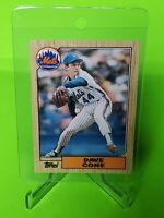 1987 Topps Traded #24T David Cone RC Rookie Card New York Mets Yankees