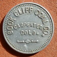 CARPENTER Colorado R9 TOKEN ⚜️ Book Cliff COAL Co. MINING Ghost Town ONLY Token