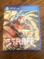 Special Reserve Games Strafe (PS4) Rare PlayStation Game Sealed
