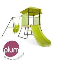 plum 22200 My First Spielcenter mit Schaukel und Rutsche