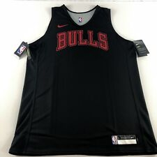 Nike NBA Chicago Bulls Player Issue Training Jersey Vest Reversible L Large Rare