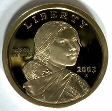 2003 -S SACAGAWEA Golden Dollar Native American PROOF Coin US Mint MADE IN USA