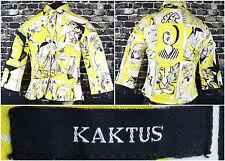 Kaktus Art You Wear Women's L/S Button Up Jacket Size Medium Modern Classic