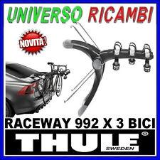 Portabici Thule Posteriore - RaceWay 992 x 3 bici - AUDI X3 5-p SUV 10->