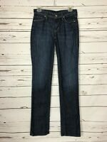 Citizens Of Humanity Stretch High Rise Straight Blue Denim Jeans Women's Size 26