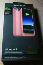 Rose Gold Mophie Juice Pack Air Battery Case Apple iPhone 6 Plus &  6s Plus