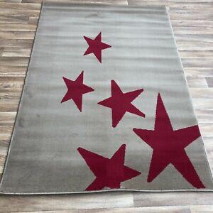 Quality star  Rug lounge bedroom children's 120cm x 170cm  (635)