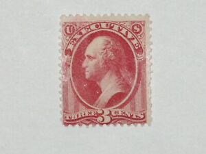 U.S. stamp Scott # O12, mint, OG, very lightly hinged. Fine +