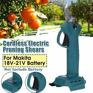 Garden Electric Cordless Pruning Shears Scissor Cutter Pruner For Makita Battery