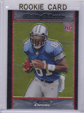 Calvin JOHNSON ROOKIE CARD Megatron 2007 BOWMAN CHROME RC Football Detroit Lions