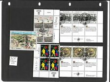 United Nations Vienna 1986-89 3 sets in blocks used/CTO