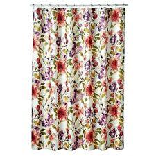 """Veratex Fabric Shower Curtain Wild Flowers 72"""" x 72"""""""