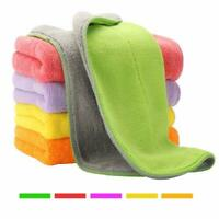 Super Thick Microfiber Cloth Set Cleaning Towel Cloths Easy Fast Cleans 5 Towels